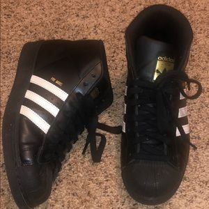 Pro model high top adidas